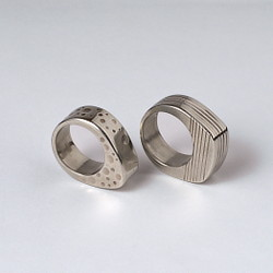 Dots and Lines Rings